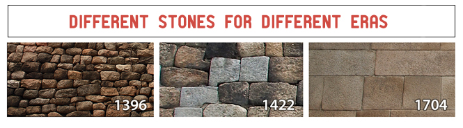 Different stones for different eras