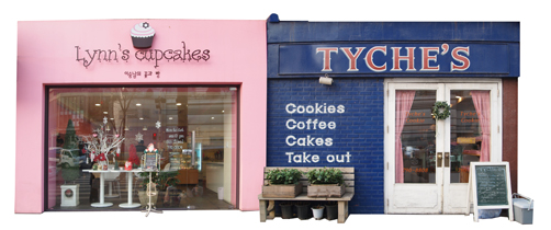Lynn's Cupcakes and Tyche's Cookie