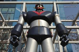 3.5 meter-high statue of Robot Taekwon V