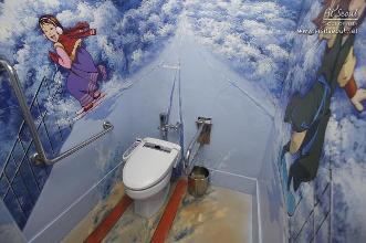 Bathroom in the theme of popular animation, Jang Geum's Dream