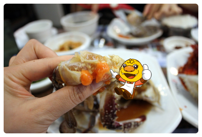 Ganjang gejang tastes best with your sleeves rolled up and without utensils