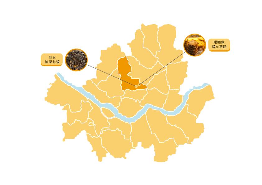 广藏市场的地图