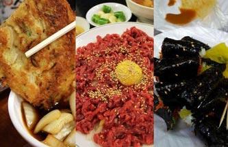 Jeon, Yukhoe & Gimbap Alley